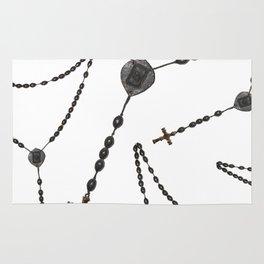 Wooden Rosary II Rug