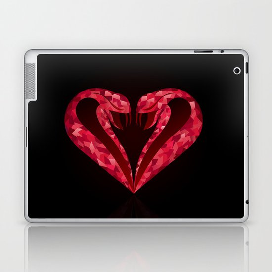 King of Hearts Laptop & iPad Skin