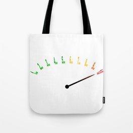 Stress Level Tote Bag
