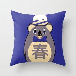 Haru - Season bear Spring Throw Pillow