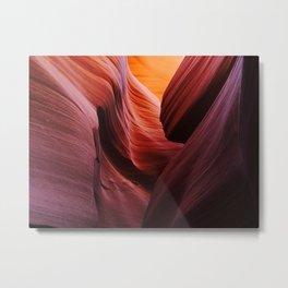 Inside Antelope Canyon Metal Print