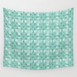 Emerald Twist Wall Tapestry