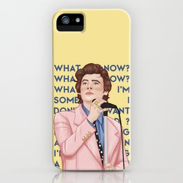 falling iPhone Case