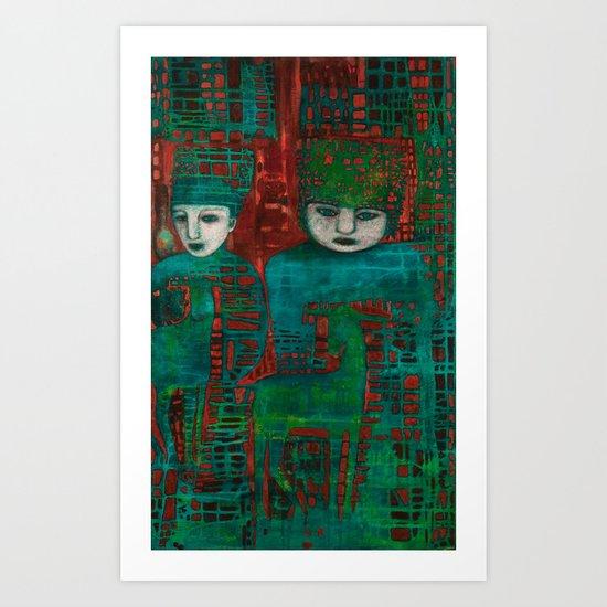 Shall the Meek Art Print