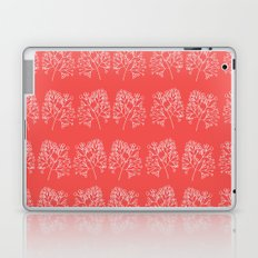 branches red graphic nordic minimal retro Laptop & iPad Skin