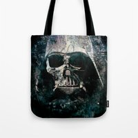 vader Tote Bags featuring Vader by Sirenphotos