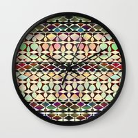 geo Wall Clocks featuring GEO by Klara Acel