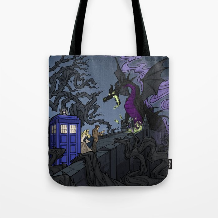 And Now You Will Deal With Me O Doctor Tote Bag