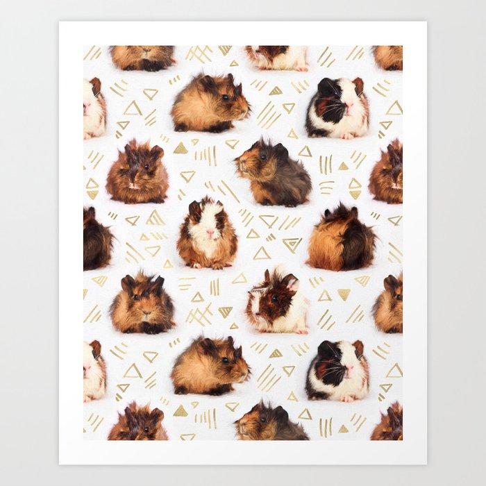 The Essential Guinea Pig Art Print