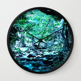 Varnavas Forest Wall Clock