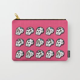 SUGAR SKULLS - PINK Carry-All Pouch