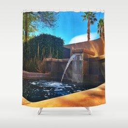 Desert Relaxation Shower Curtain