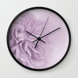 Light Lilac Rose #6 #floral #art #society6 Wall Clock