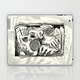 The Shaping of a Man Laptop & iPad Skin