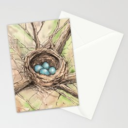 Nature's Nest Stationery Cards