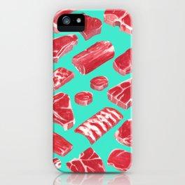 MEAT MARKET, by Frank-Joseph iPhone Case