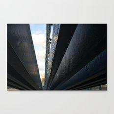 bridge the gap. Canvas Print