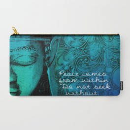 Aqua Buddha Carry-All Pouch