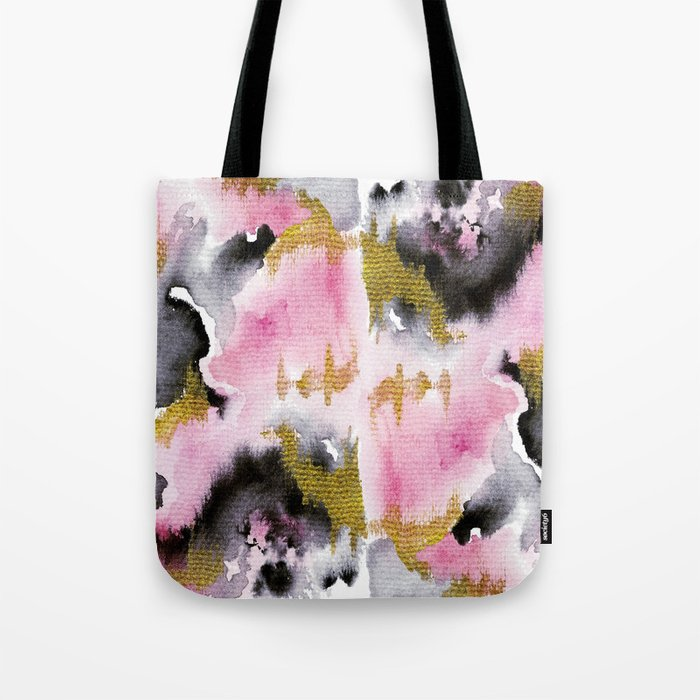 Watery Abstract #1- Watercolor Painting Tote Bag
