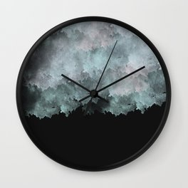 Weather the Storm Wall Clock