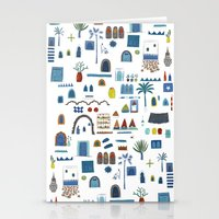 morocco Stationery Cards featuring Morocco Sketch by Nic Squirrell