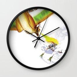 Dragon Attack Wall Clock