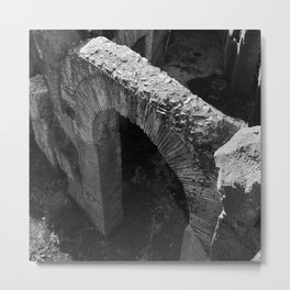 A gate at the Colosseum | Rome, Italy | Black & White | Travel Photography | Fine Art Photo Print Metal Print
