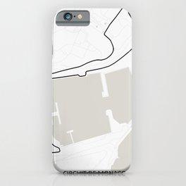 Circuit de Monaco, Monte Carlo iPhone Case