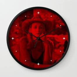 Taylor Schilling - Celebrity (Photographic Art) Wall Clock