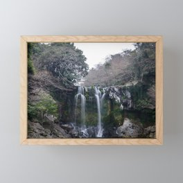Cheonjeyeon Falls No. 2 Framed Mini Art Print