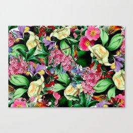 Vintage Floral bouquet Canvas Print