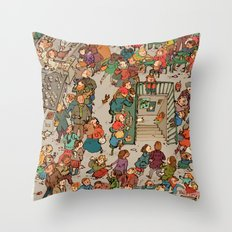 St-Lawrence Market Throw Pillow