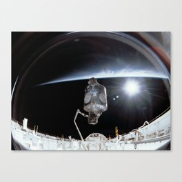 NASA International Space Station Canvas Print