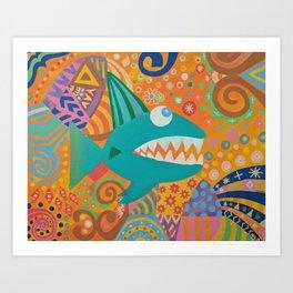 Wish Upon a Fish Art Print