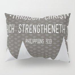 I CAN // Philippians 4:13 Pillow Sham