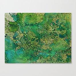 The Cascades Canvas Print
