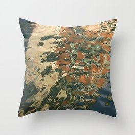 Venetian Water 2 Throw Pillow