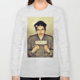Rosa Parks, Civil Rights Activist Long Sleeve T-shirt