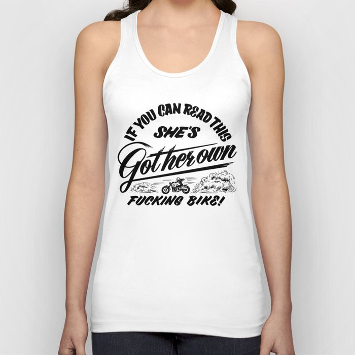 If You Can Read This Unisex Tank Top