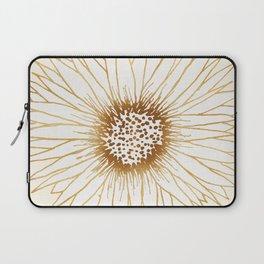 Gold Sunflower Laptop Sleeve