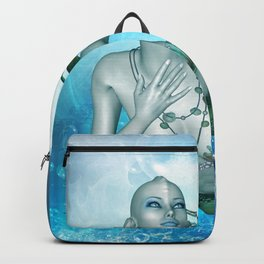 Wonderful mermaid Backpack