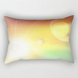 Lichtuniversum. Rectangular Pillow