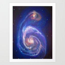 Naissance du Ciel Art Print