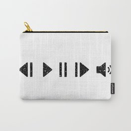 Black Music Controls Carry-All Pouch