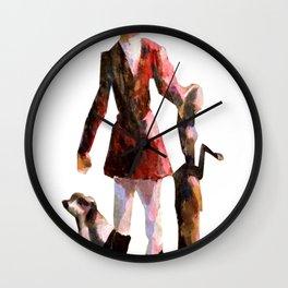 The Fox Method Wall Clock
