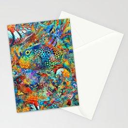 Tropical Beach Art - Under The Sea - Sharon Cummings Stationery Cards