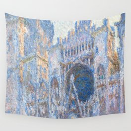 1894-Claude Monet-Rouen Cathedral, West Façade-65 x 100 Wall Tapestry