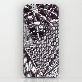 Zen Doodle Graphics zz12 iPhone Skin