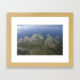 Sky and Sea Framed Art Print