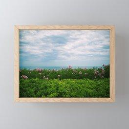 orizzonte fiorito Framed Mini Art Print